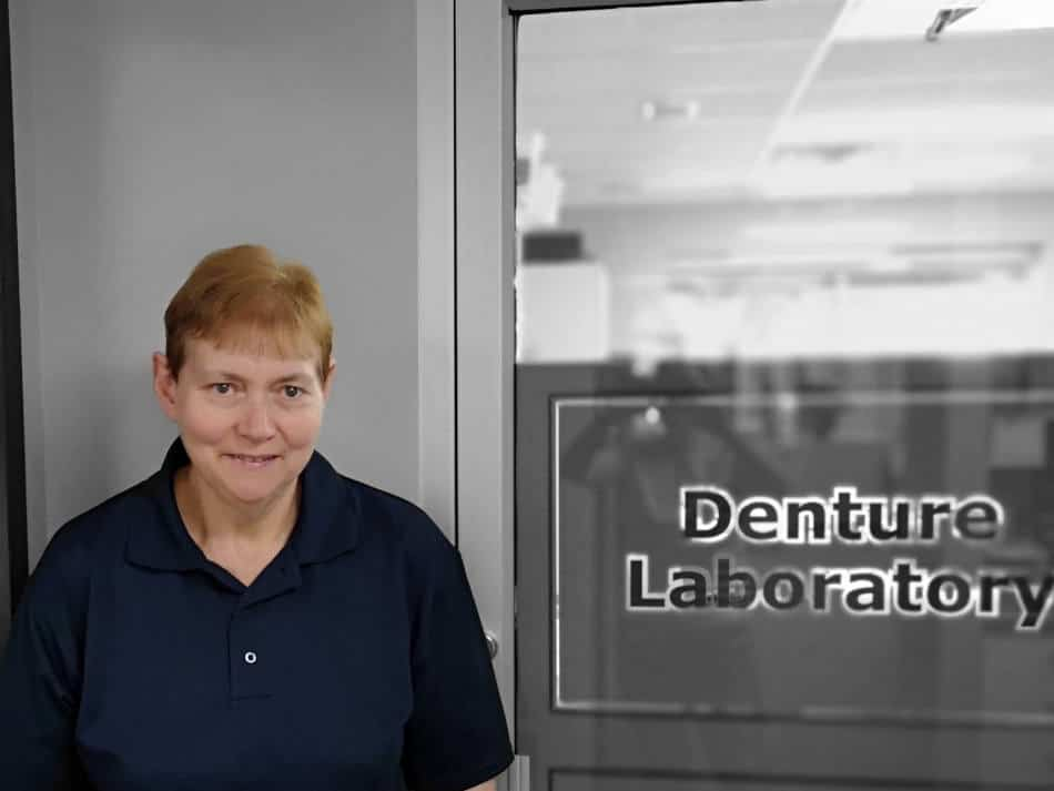 Marie Jenkinson, Certified BPS® denture technician